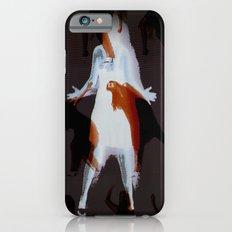 Orange dancer iPhone 6 Slim Case