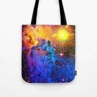 Fox Fur Nebula II Tote Bag