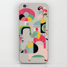 Jungle of elephants iPhone & iPod Skin