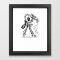 Megatron Contest Weirdo Framed Art Print