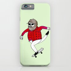 On how to overcome certain obstacles while skateboarding iPhone 6s Slim Case