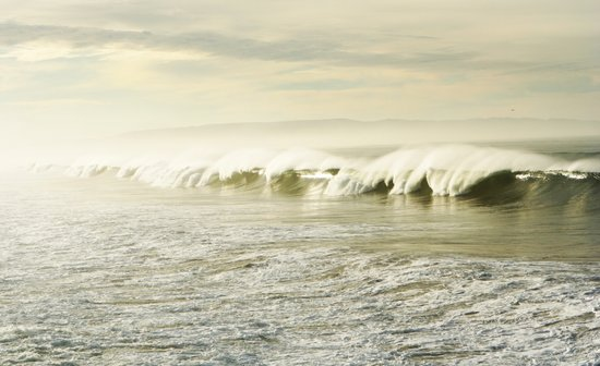 Pismo Waves Canvas Print