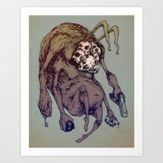 Bunny Creep Art Print