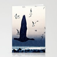The Goose And The Seagul… Stationery Cards