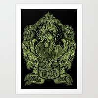 THE KILL COCK Art Print