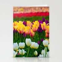 Fields Of Color III, Woo… Stationery Cards
