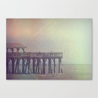 The Warm Winds Of Summer… Canvas Print