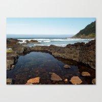 Cape Perpetua Tide Pool Canvas Print