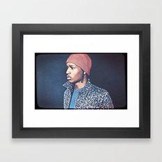Asap Rocky Framed Art Print