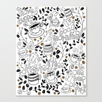 Coffee, Tea & Thee Canvas Print