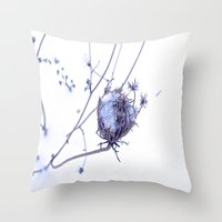 Traces Of Summer Throw Pillow