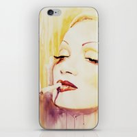Marlene Dietrich With A … iPhone & iPod Skin