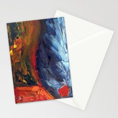 Expressionist Landscape Stationery Cards