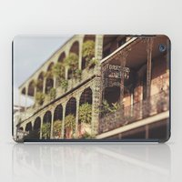 New Orleans Royal Street Balconies iPad Case