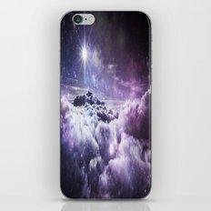 Galaxy Clouds : Shades of Purple iPhone & iPod Skin