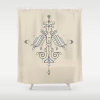 TIOH THREE Shower Curtain