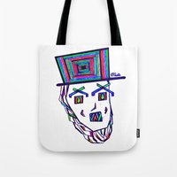 Colored Lincoln Tote Bag
