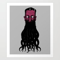 Lovecramorphosis Art Print