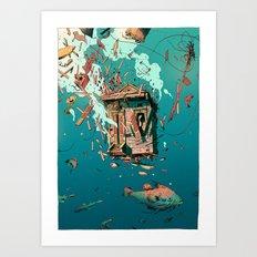 Katrina's Dream Art Print