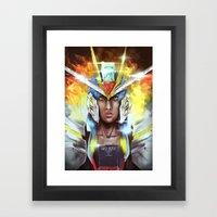 STRIKE FREEDOM Framed Art Print