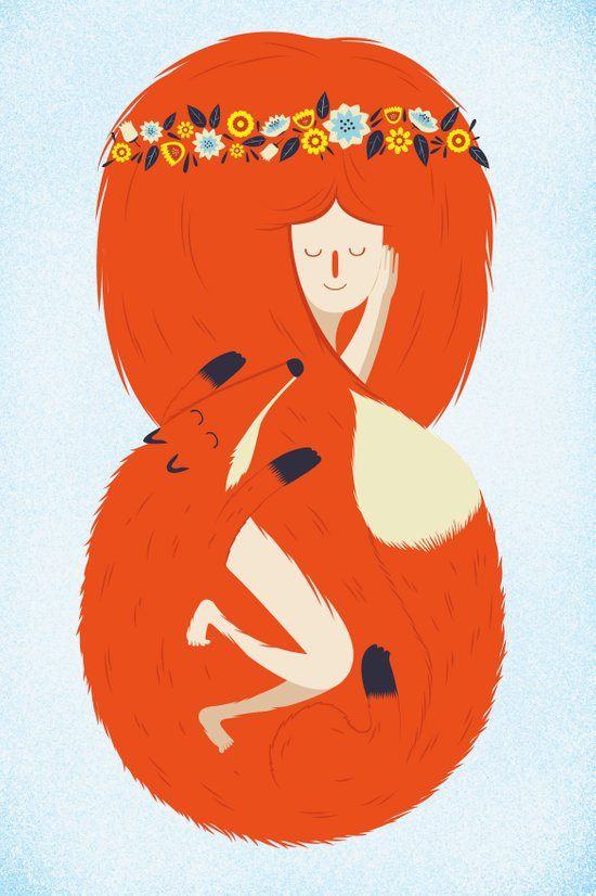 Foxy Lady Canvas Print