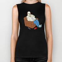 Couch Potato Biker Tank