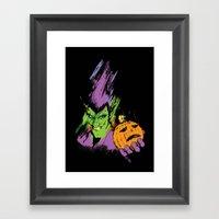 The Green Goblin Framed Art Print