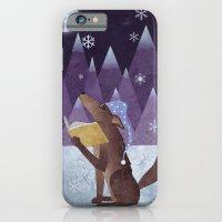iPhone & iPod Case featuring A Dog's Dream by Robert Scheribel