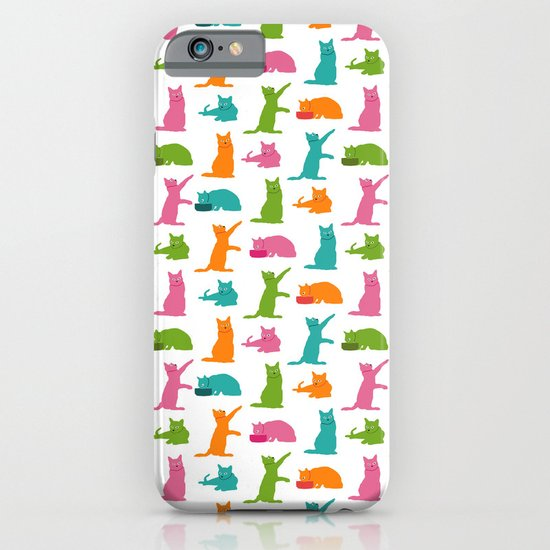 Cats Multicolor iPhone & iPod Case