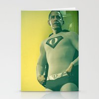 Super Obama Stationery Cards