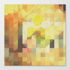 baja sunrise Canvas Print