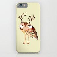 Owl Print, Owl Illustrat… iPhone 6 Slim Case