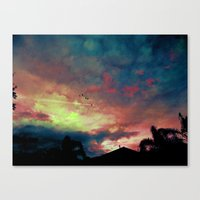 Acid Wash Canvas Print