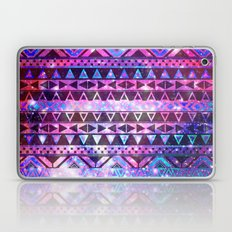 Head In Space | Girly Andes Aztec Pattern Pink Teal Nebula Galaxy Laptop & iPad Skin