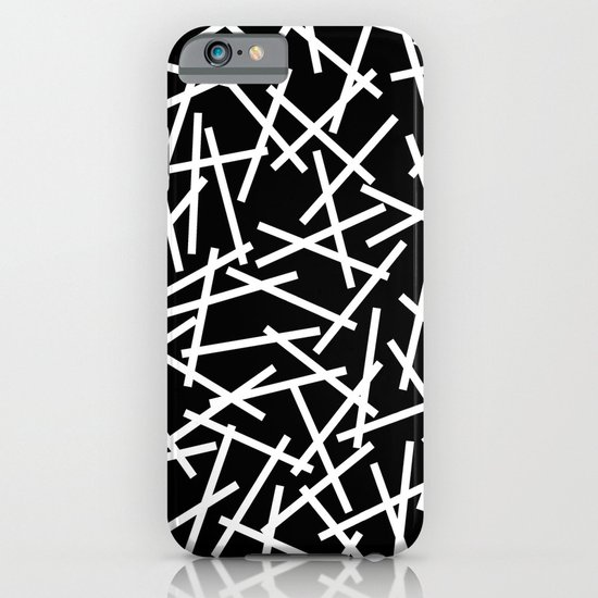 Kerplunk Black and White iPhone & iPod Case
