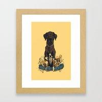 Dogs1 Framed Art Print