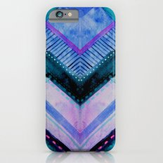 Blue Patchwork iPhone 6 Slim Case