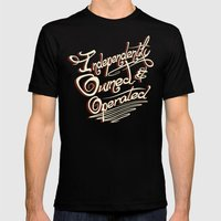 Independently Owned & Op… Mens Fitted Tee Black SMALL