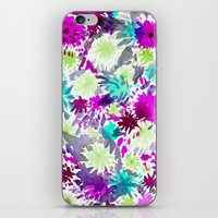 RACHEL ABSTRACT FLORAL iPhone & iPod Skin