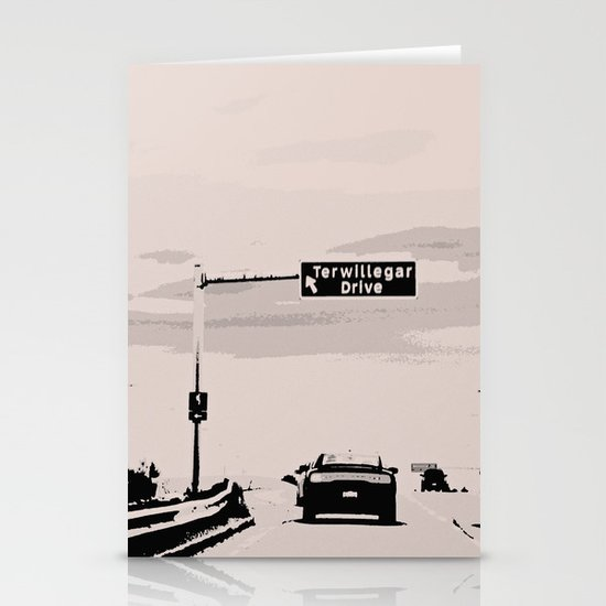 Terwillegar Drive Stationery Card