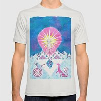 Sun of God Mens Fitted Tee Silver SMALL
