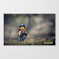Everything Is Awesome Ra… Canvas Print