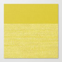 Riverside(Yellow) Canvas Print
