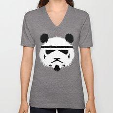 Panda Trooper Unisex V-Neck
