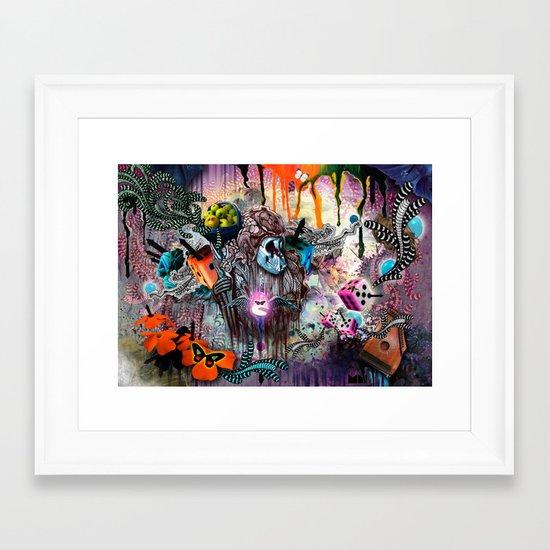 The Monk Framed Art Print