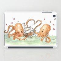 Octopus Valentine  iPad Case
