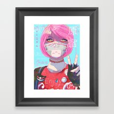 Harajuku Girl Framed Art Print