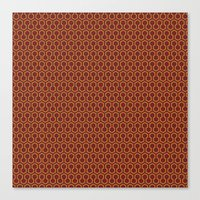 Shining Rug  Canvas Print