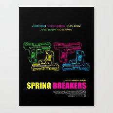 Spring Breakers Canvas Print