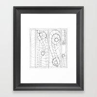 Original Sketch Series -… Framed Art Print